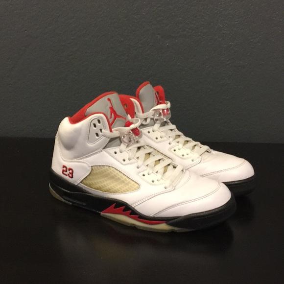 best value 813b8 ac95a Jordan Other - Air Jordan 5 V Fire Red Countdown Pack Sz 9.5 NICE